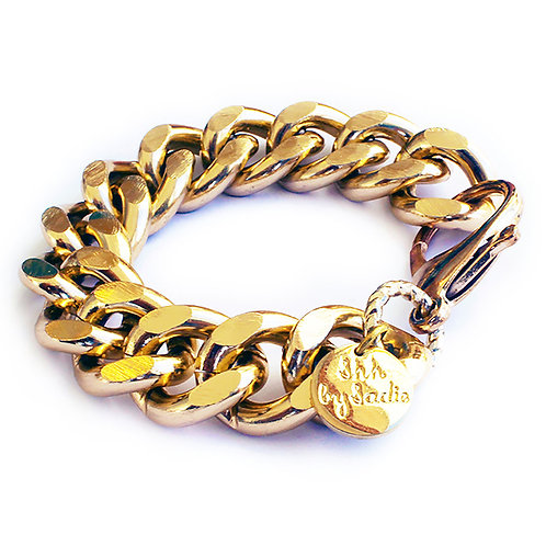 Chunky Chain Bracelet - Gold / Silver