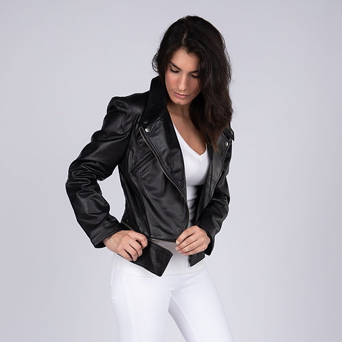 Annette Womens Leather Jacket