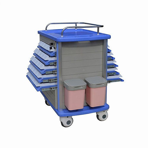 R-MT02 ABS Medicine Trolley