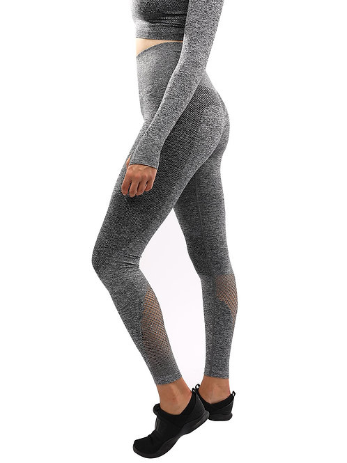 Cadrina Seamless Leggings - Grey