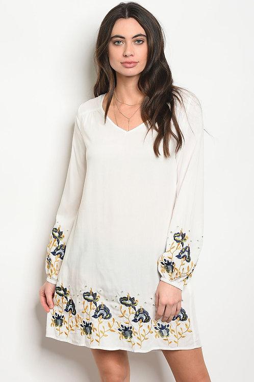 Womens Ivory Dress