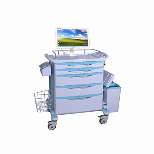 BR-LT06 Computer Workstation Trolley