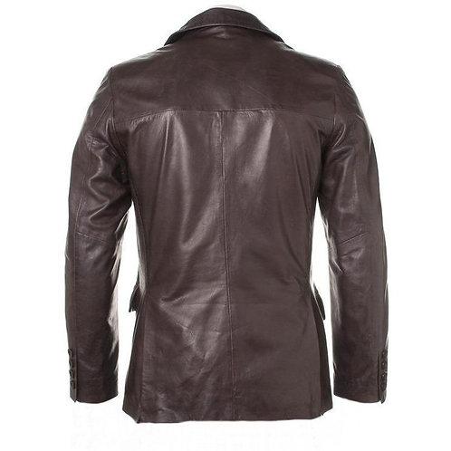 Bixby Mens Leather Blazer
