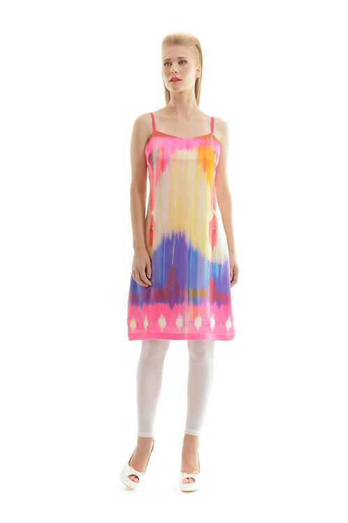 Vivid Print Dress