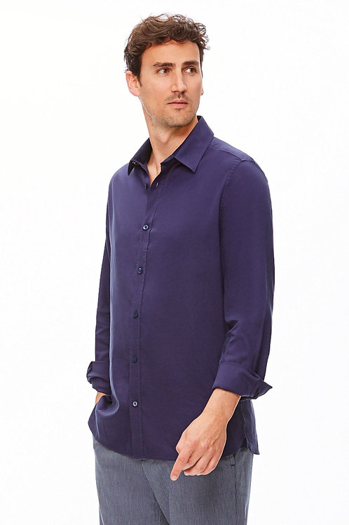 The Trotter Button Up  | Regular Fit | Rhythm in Blue