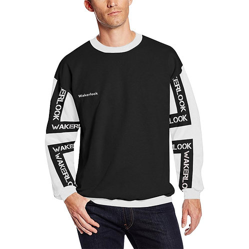 Men's Fashion Wakerlook Fuzzy Sweatshirt