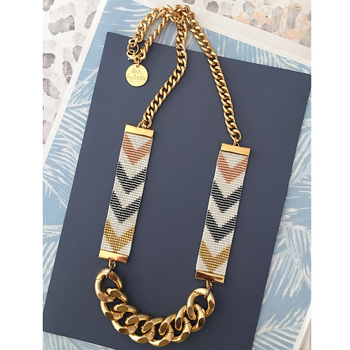 Chevron D'or Necklace - short
