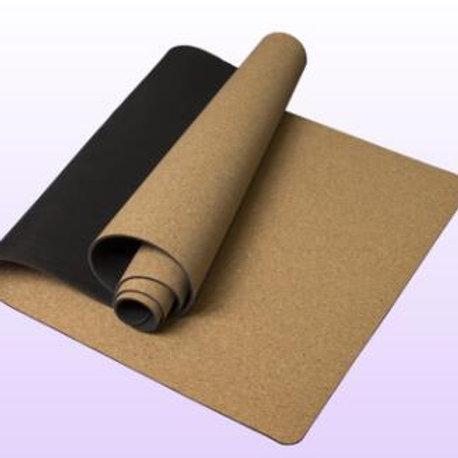 5MM  Non-slip Cork Rubber Natural Yoga Mat For Fitness Women Pilates