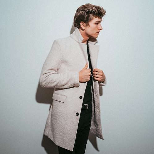 Boucle Jacket // White
