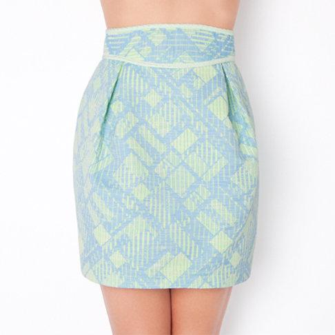 Aqua Ruby Skirt