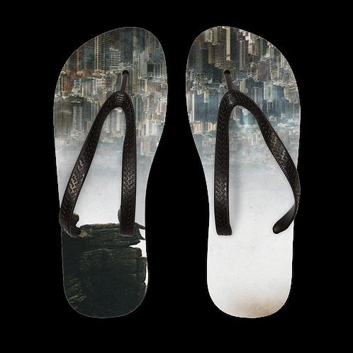Between The Haze Adult Flip Flops