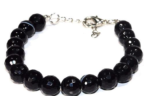 Black Agate Yoga Bracelet
