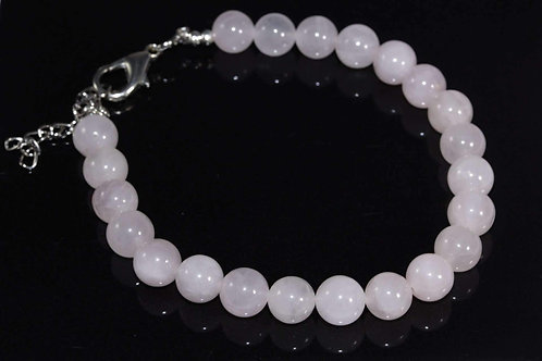 Rose Quartz Yoga Bracelet