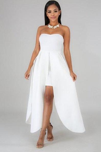 Carina White Dress
