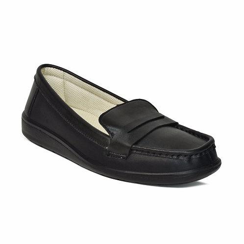 AEROSOFT - Walkish Classic Fashion Square Toe Flat Walking Womens