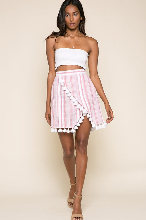 Candy Stripes Short Skirt