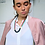 Thumbnail: Miami Nights Necklace - Pink