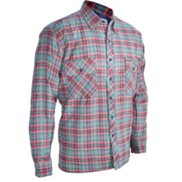 Kennedy Quilted Checked Work Shirt