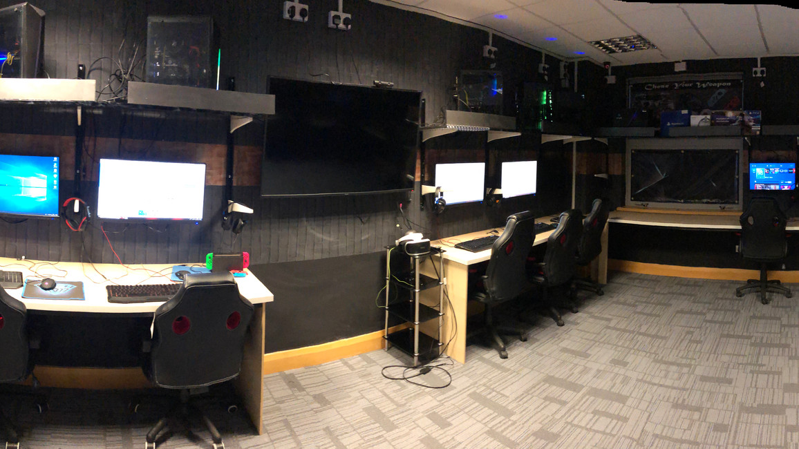 Panoramic View of game Room