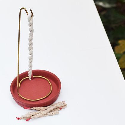 Nepali Rope Incense Burner