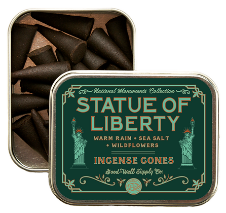 Statue of Liberty Incense Cones - Good & Well Supply Co.
