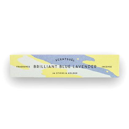 Brilliant Blue Lavender Scentsual Incense