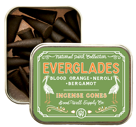 Everglades Incense Cones - Good & Well Supply Co.