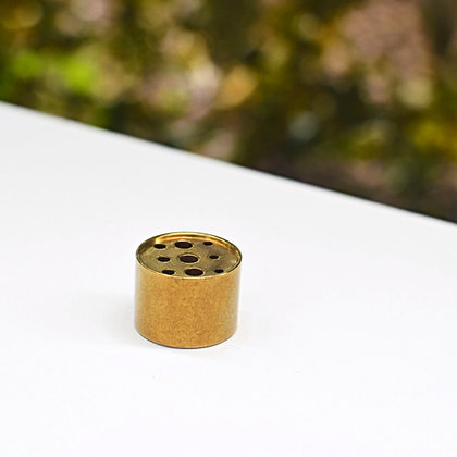 Brass Column Incense Stand - Medium