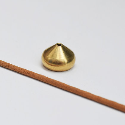 Brass Teardrop Incense Stand - Small