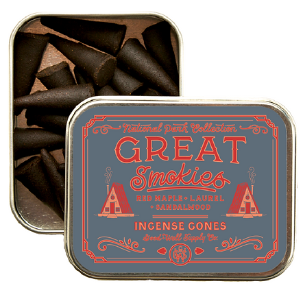 Great Smokies Incense Cones - Good & Well Supply Co.