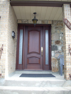 Bourassa Custom Wood Door Entry #3