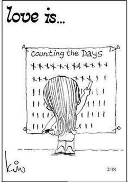 PW - MEME - love is counting the days