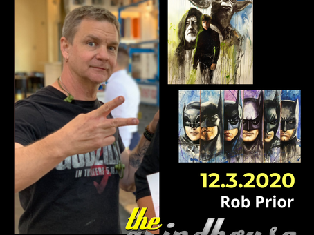 Artist and Illustrator Rob Prior Joins The Grindhouse Radio