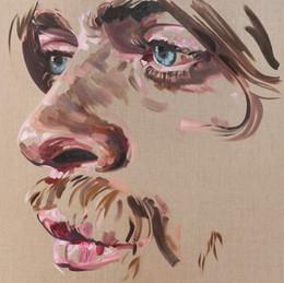 Stranger, 2020, oil on linen, 91.5 x 91.5 cm