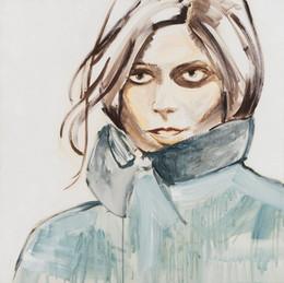 Ashley Greene, 2013, synthetic polymer on canvas, 91 x 91 cm