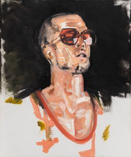 Tyler Durden, 2014, synthetic polymer on canvas, 60 x 50 cm