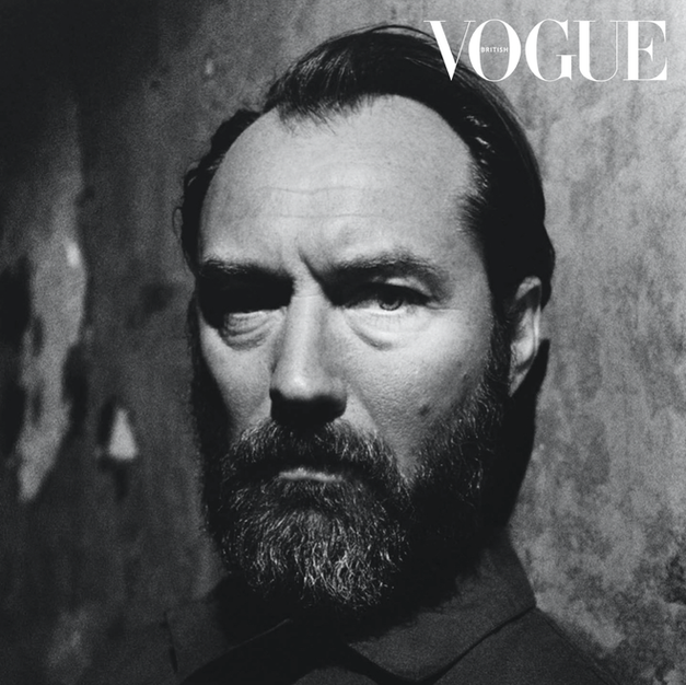 Jude Law x British Vogue