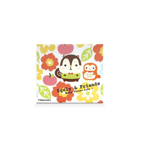 MASKfolio S [ Squly & Friends - Happy Forest Life ]