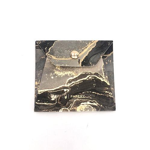 MASKfolio S [ Abstract - Grey/Gold ]