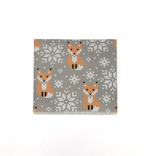 MASKfolio S [ Knitted Foxes ]