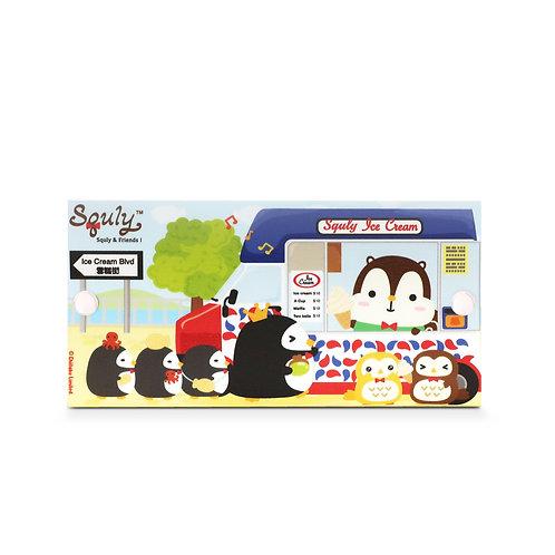 MASKfolio [ Squly & Friends - Ice Cream Truck]