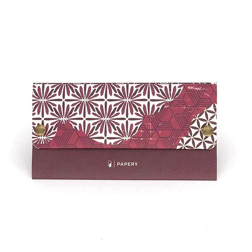 MASKfolio [ Burgundy Kimono ]