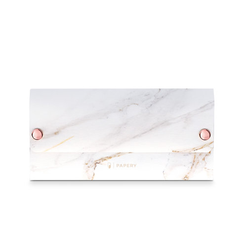 MASKfolio [ Marble - White ]
