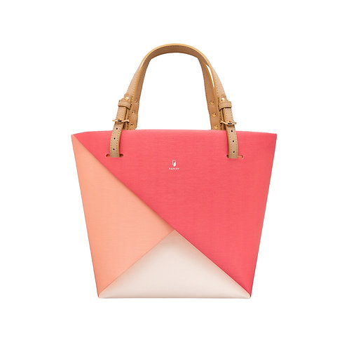 Colour Block | Pinky Red