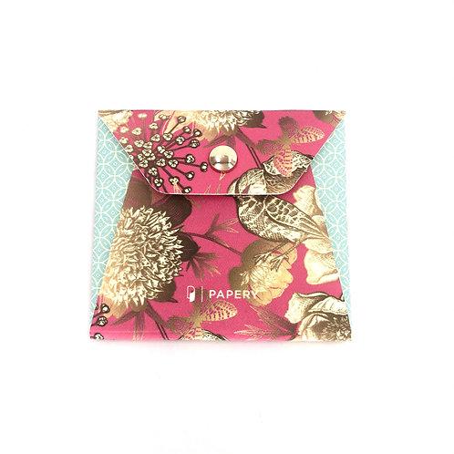 MASKfolio S [Turquoise Bird Embroidery]  ]