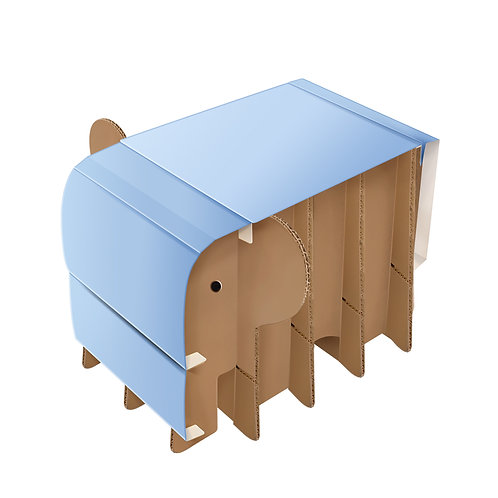 Elephant Storage Stool