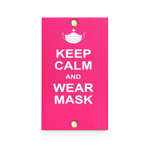 MASKfolio [ KEEP CALM - Wear Mask ]