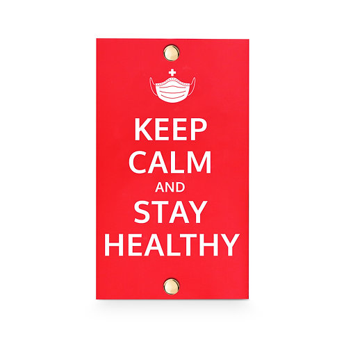 MASKfolio [ KEEP CALM - Stay Healthy ]