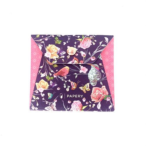 MASKfolio S [Pink Bird Embroidery]