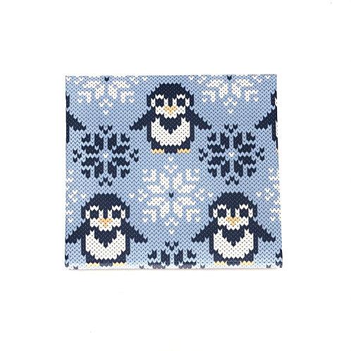 MASKfolio S [ Knitted Penguins ]